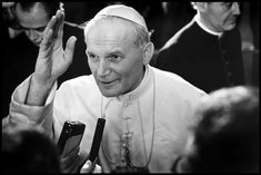 Zoom In: Pope John Paul II