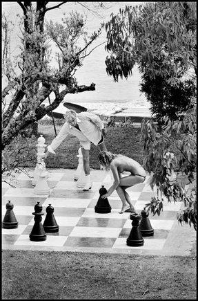 Шахматы, Лазурный берег Франции, 1978 год - Chess, France