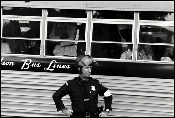bostons busing crisis Magnum photos is a photographic co-operative of great diversity and distinction owned by its photographer-members with powerful individual vision, magnum photographers chronicle the world.