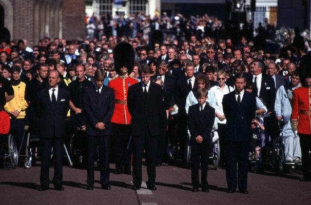 伦敦--王妃戴安娜的葬礼