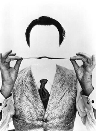 Philippe Halsman y Salvador Dalí