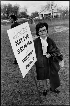 One native Selmian for freedom and justice